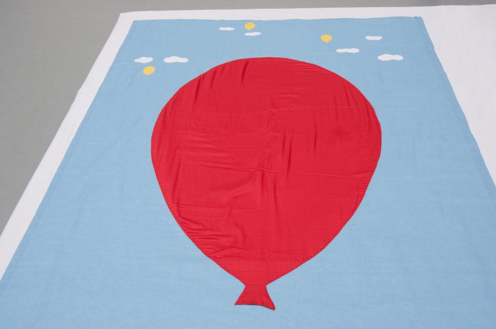 Kinder Lijkwade Rode ballon