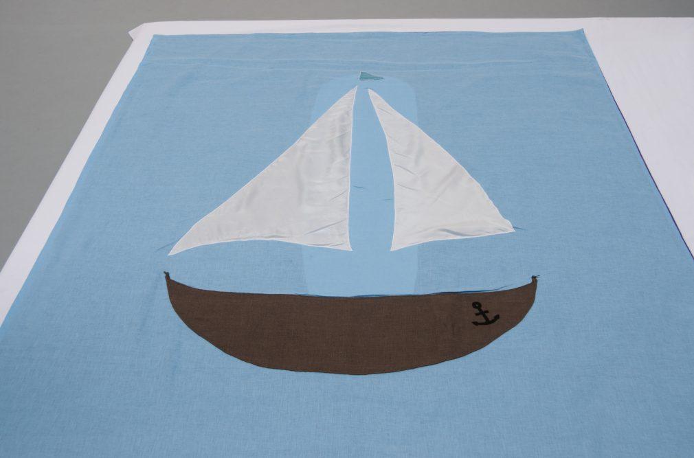 Kinder Lijkwade Zeilboot