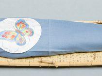 IJsblauw linnen