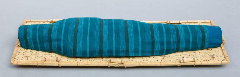 Lijkwade Aqua streep wol