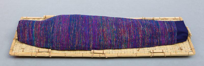 Lijkwade Sari donkerblauw