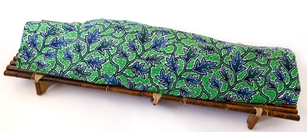 Green Leaves lijkwade Prints van Atelier Alewijn horizontaal
